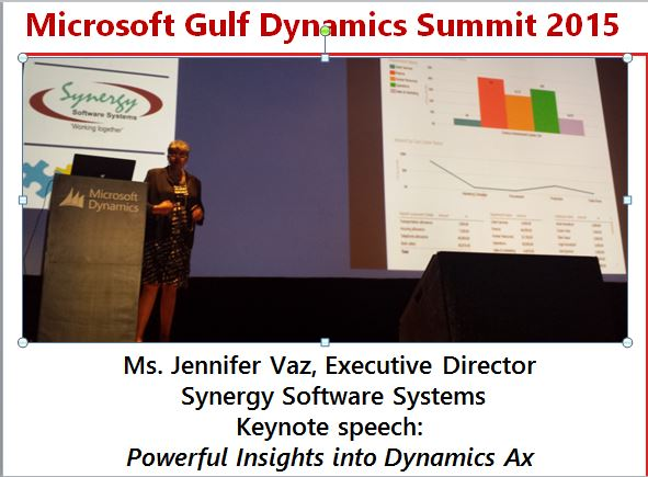 Huge Turnout For Microsoft Gulf Dynamics Summit 2015 Synergy Software Systems Blog
